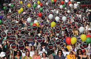 Turkish women rally against plans to restrict access to abortion