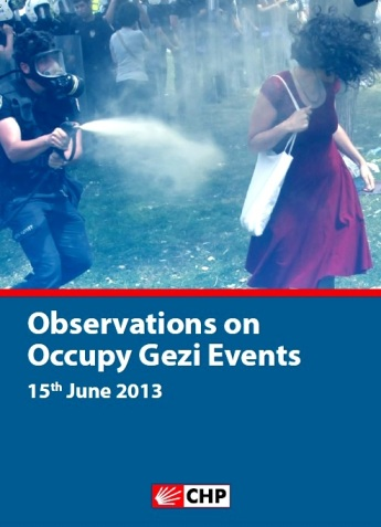 Observations on Occupy Gezi Events