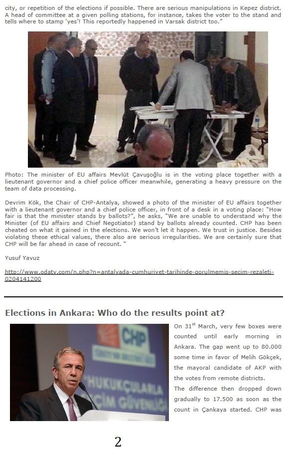 Biggest Electoral Fraud Ever Staged In Turkey 4 April 2014 - 2