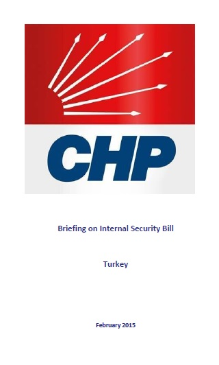 CHP Briefing on Internal Security Bill_Cover