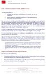 CHP AntiCorruption Manifesto Cover