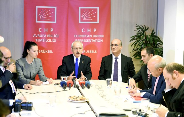 Press conference, CHP EU Representation, Brussels